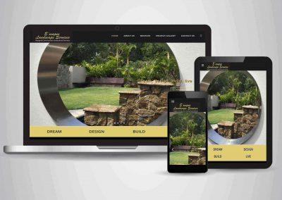 E'scapes Landscape Services - Website Designer Toowoomba Portfolio
