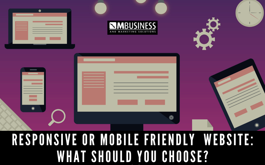 Responsive or Mobile Friendly Toowoomba Website: What Should You Choose?